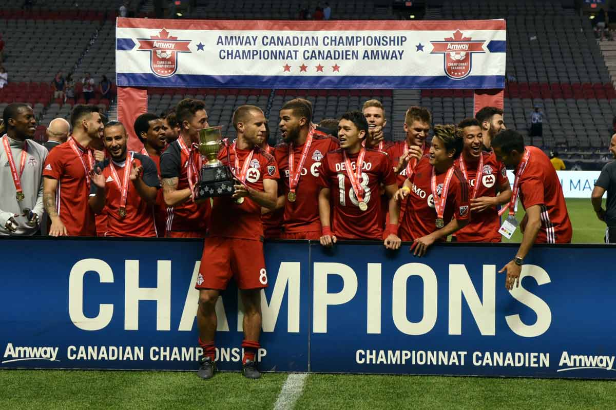 Toronto FC, campeón del Amway Canadian Championship