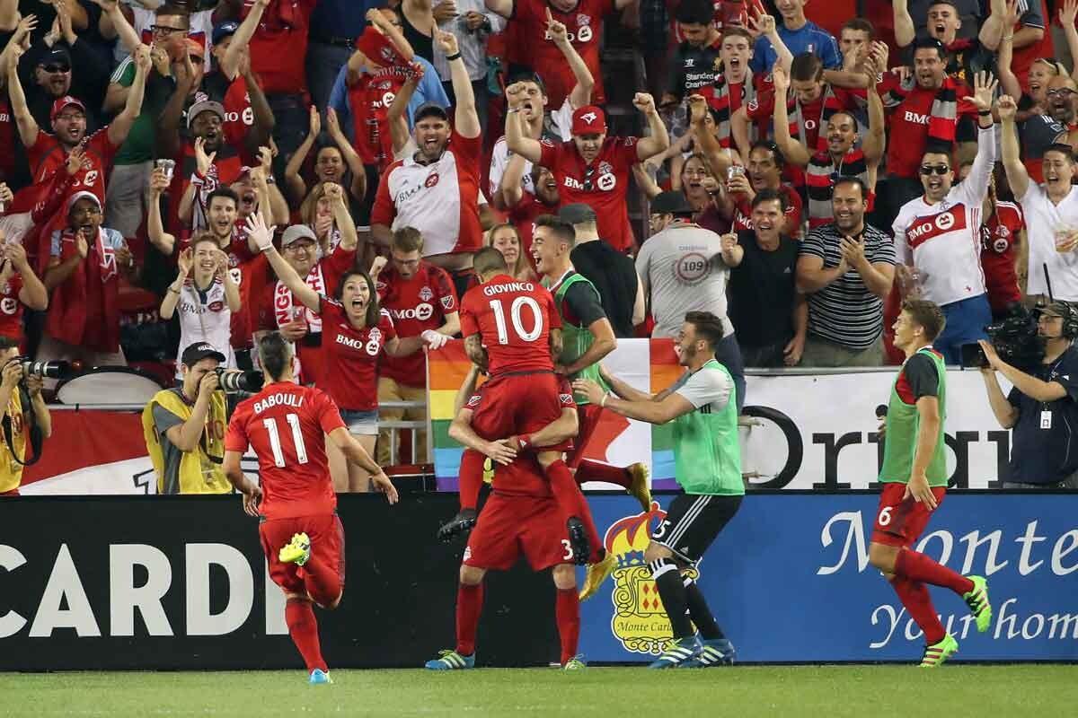 Giovinco da ventaja a toronto en la final de la copa canadiense
