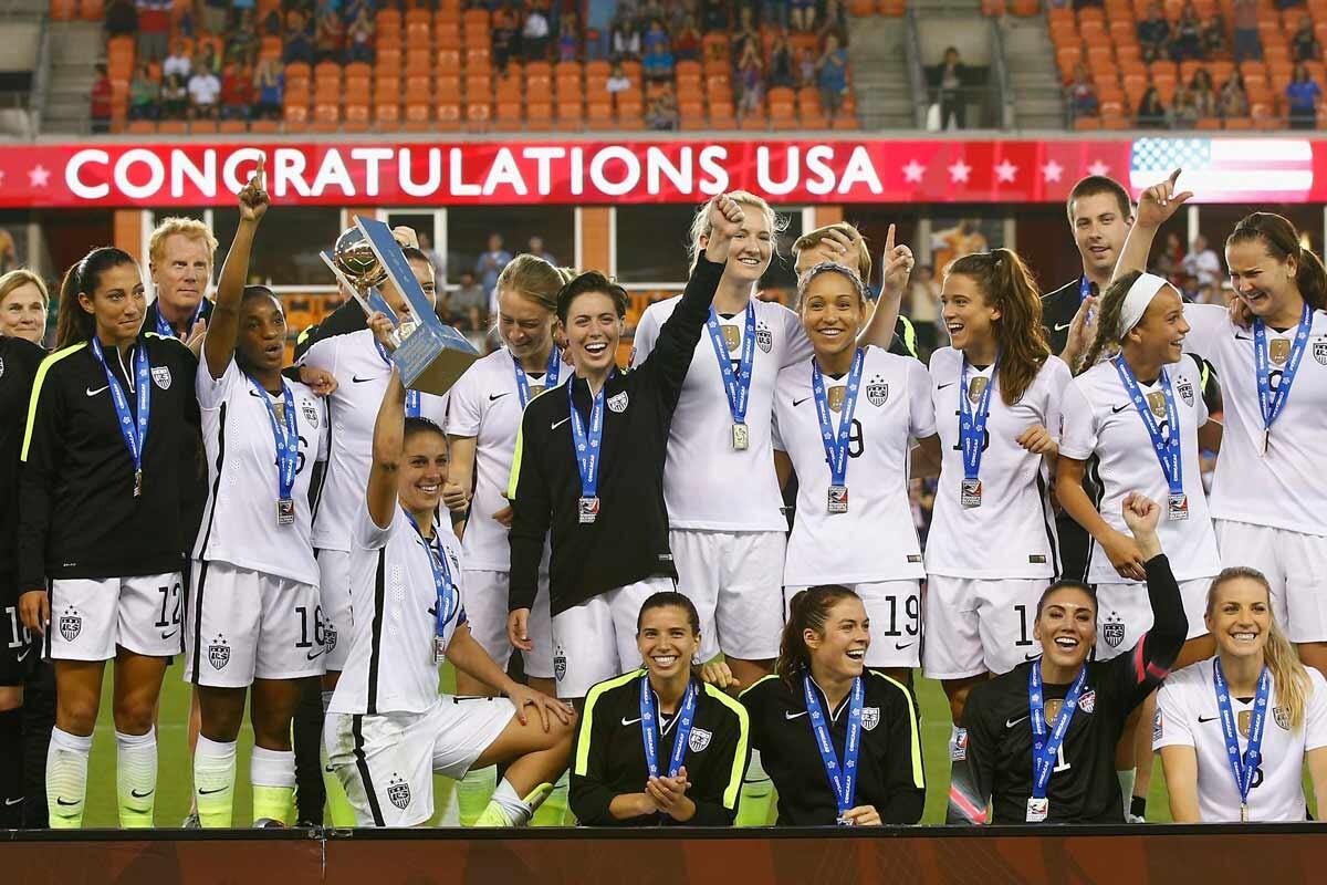 La selección femenina de los Estados Unidos