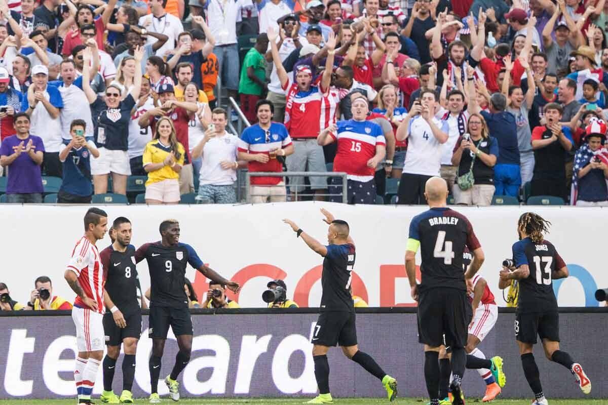 Estados Unidos vs Paraguay