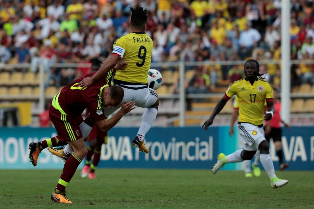 Venezuela y Colombia empataron sin goles