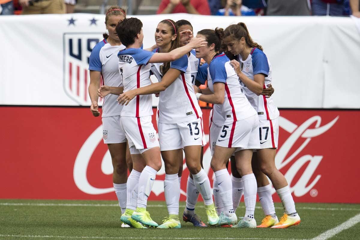 Selección femenina de los Estados Unidos