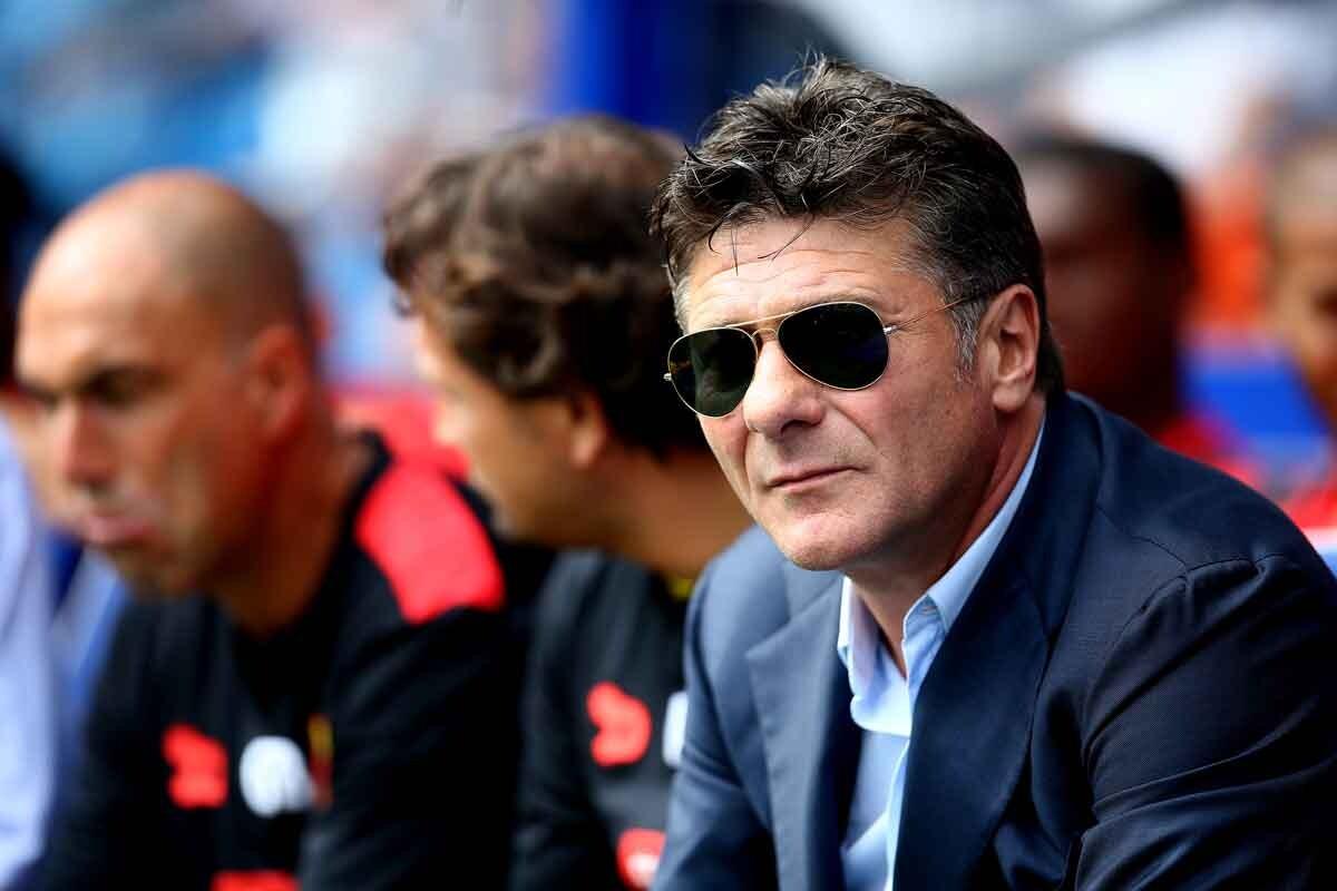 Walter Mazzarri, entrenador del Watford