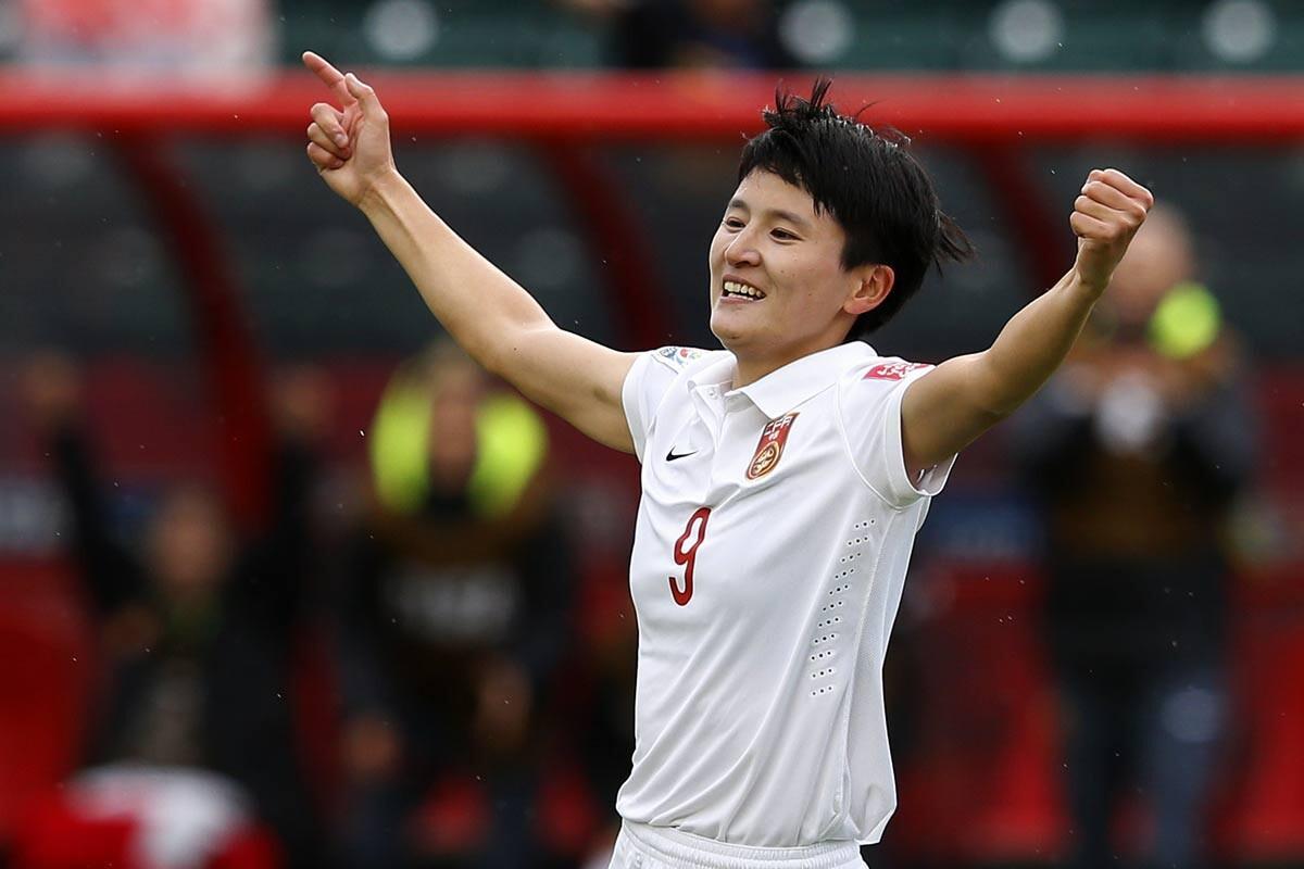 Wang Shanshan, de la selección femenina de China
