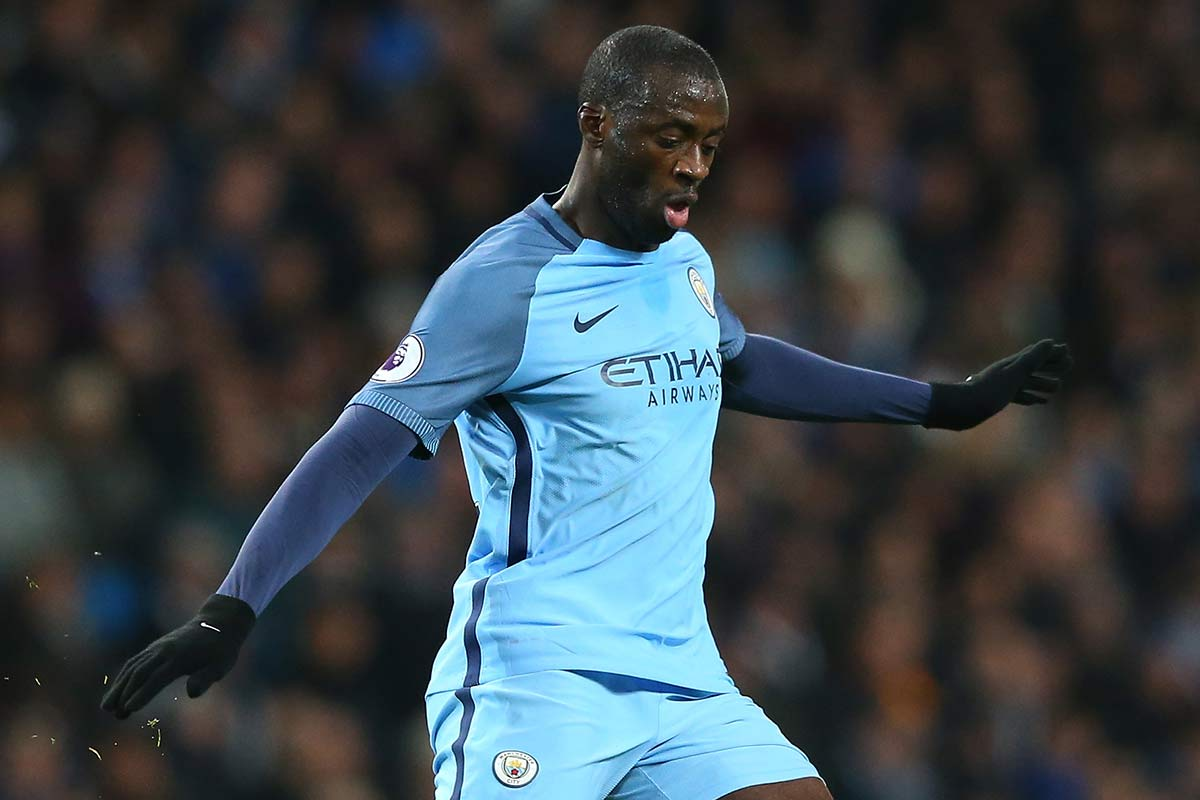 Yaya Toure, del Manchester City