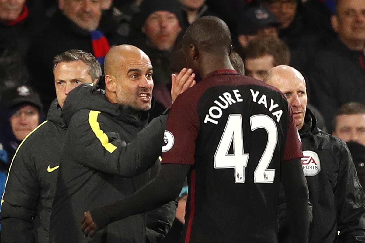 Yaya Touré, del Manchester City
