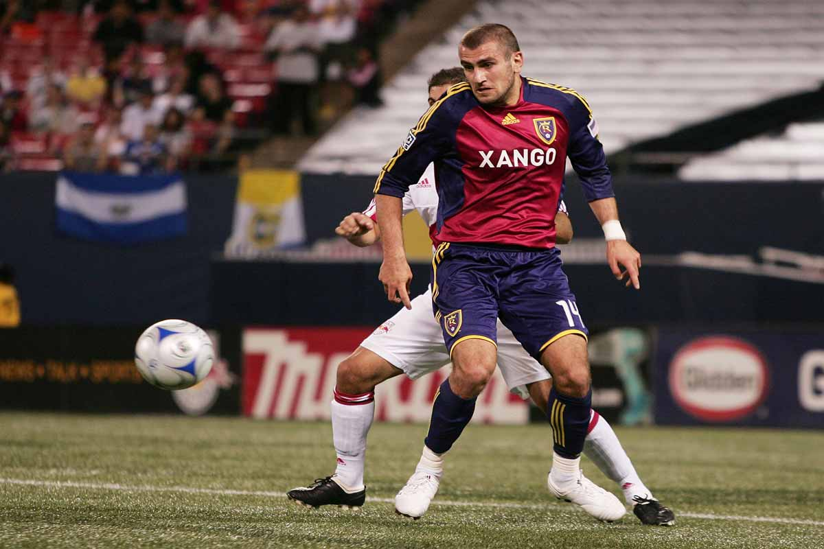 Yura Movsisyan, del Real Salt Lake