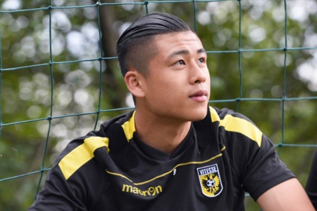 Zhang Yuning delantero de Vitesse