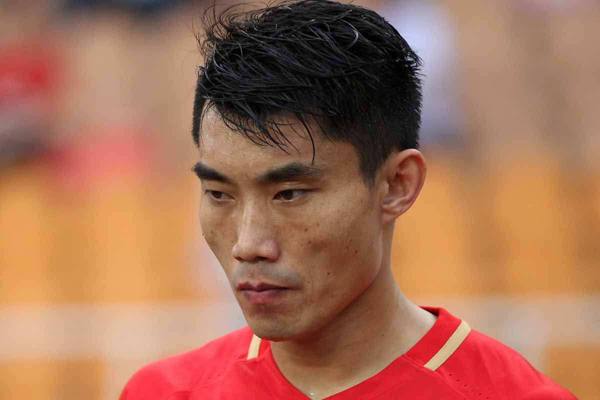 Zheng Zhi, jugador de Guangzhou Evergrande