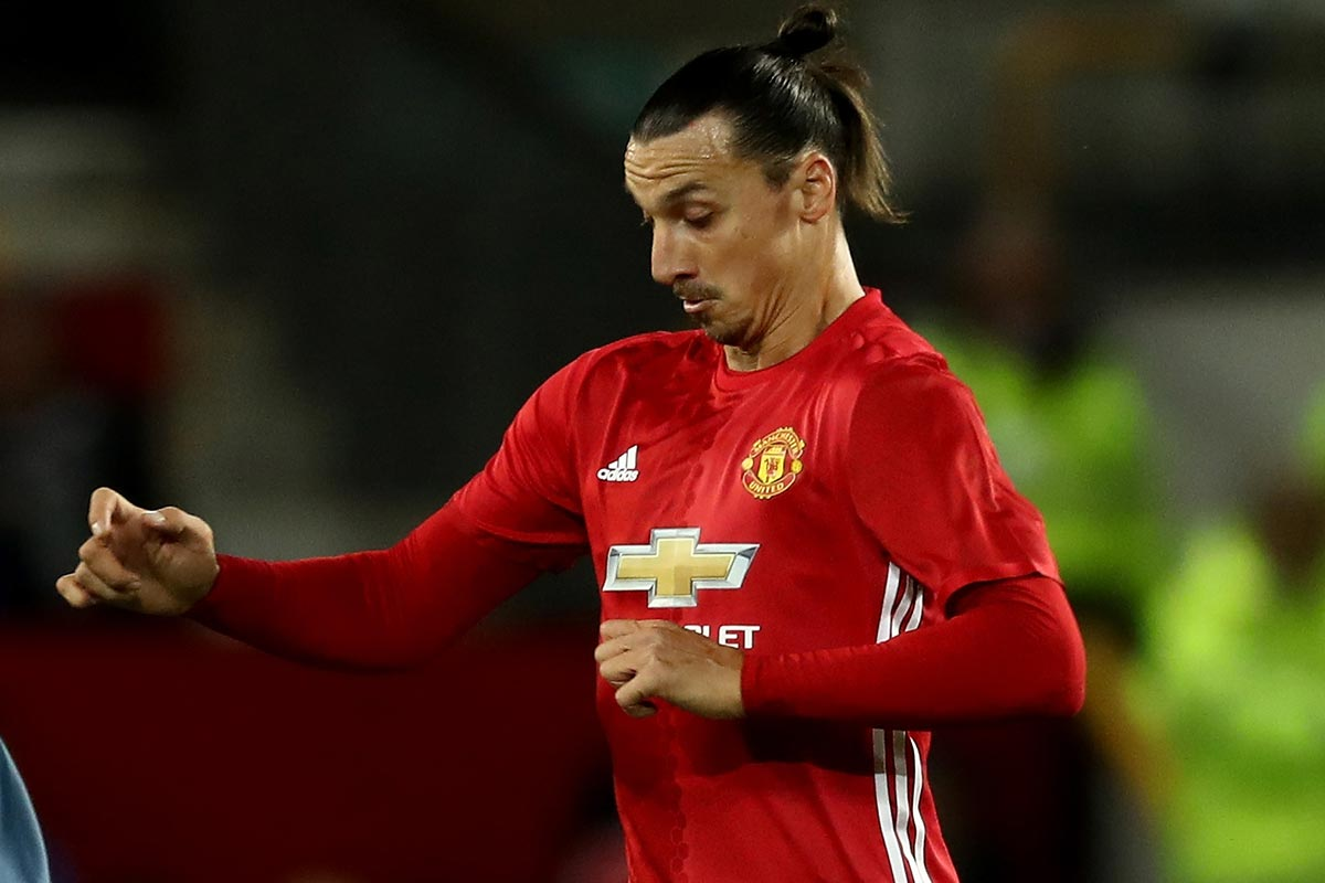 Zlatan Ibrahimovic, delantero del Manchester United
