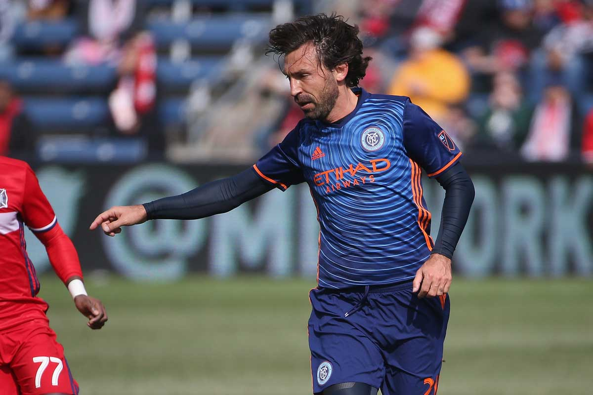 Andrea Pirlo, de New York City