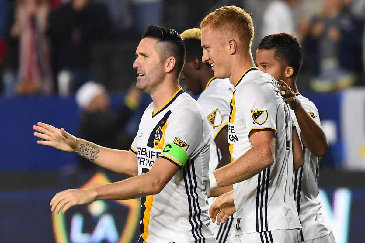 los galaxy imparables en la mls
