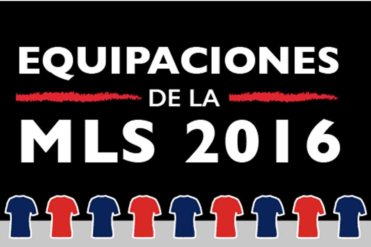 Camisetas MLS de la temporada 2016