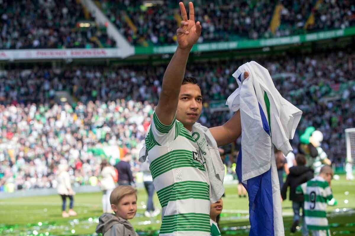 Emilio Izaguirre se va del Celtic