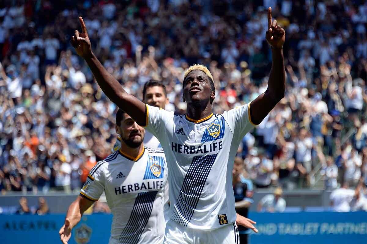 LA Galaxy golean en su partido de la MLS