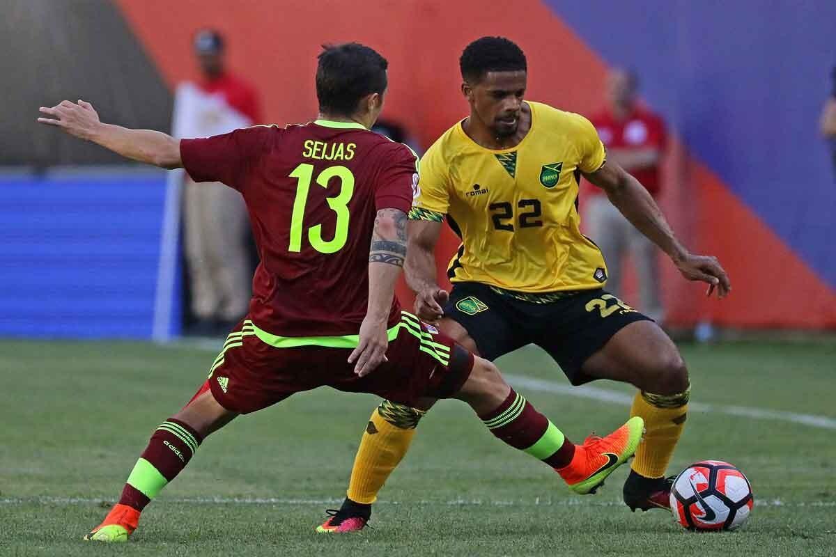 Venezuela derrotó a Jamaica en la copa américa centenario
