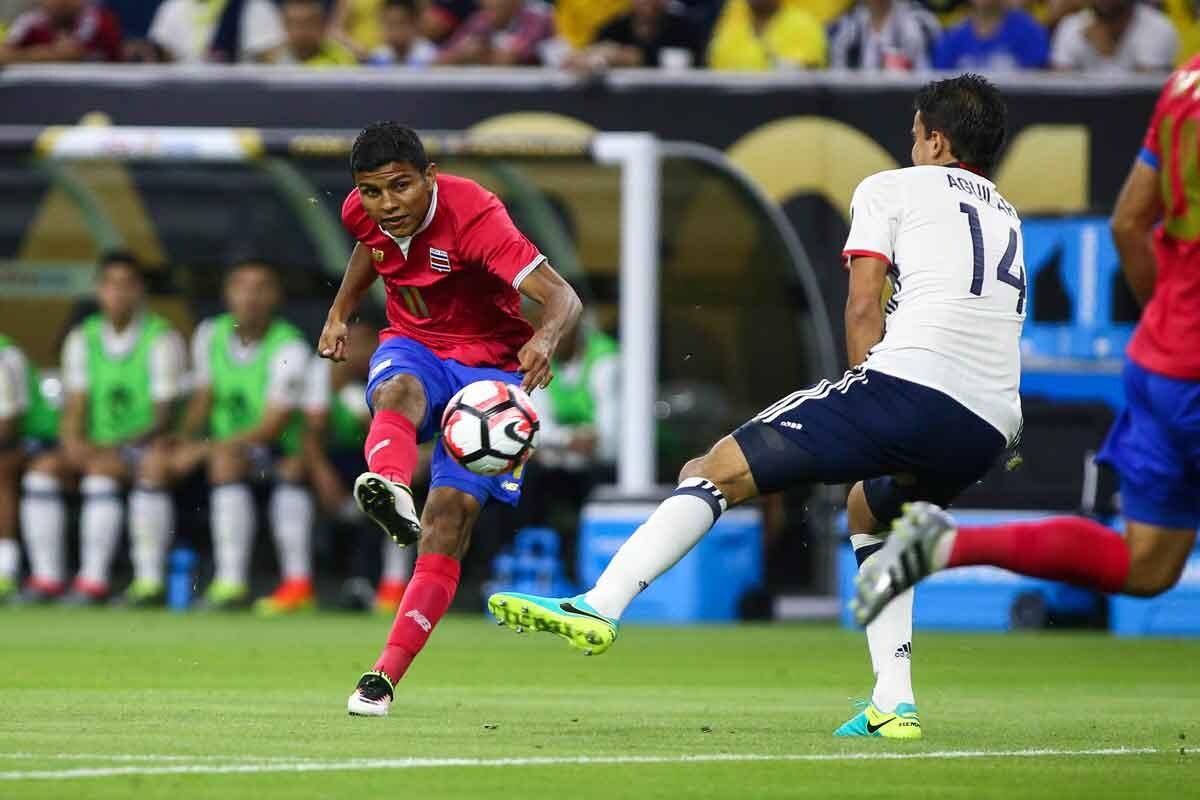 Venegas figura de la selección de Costa Rica