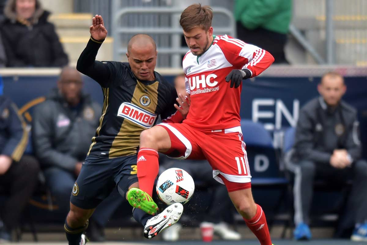 New England Revolution vs Philadelphia Union, de la MLS