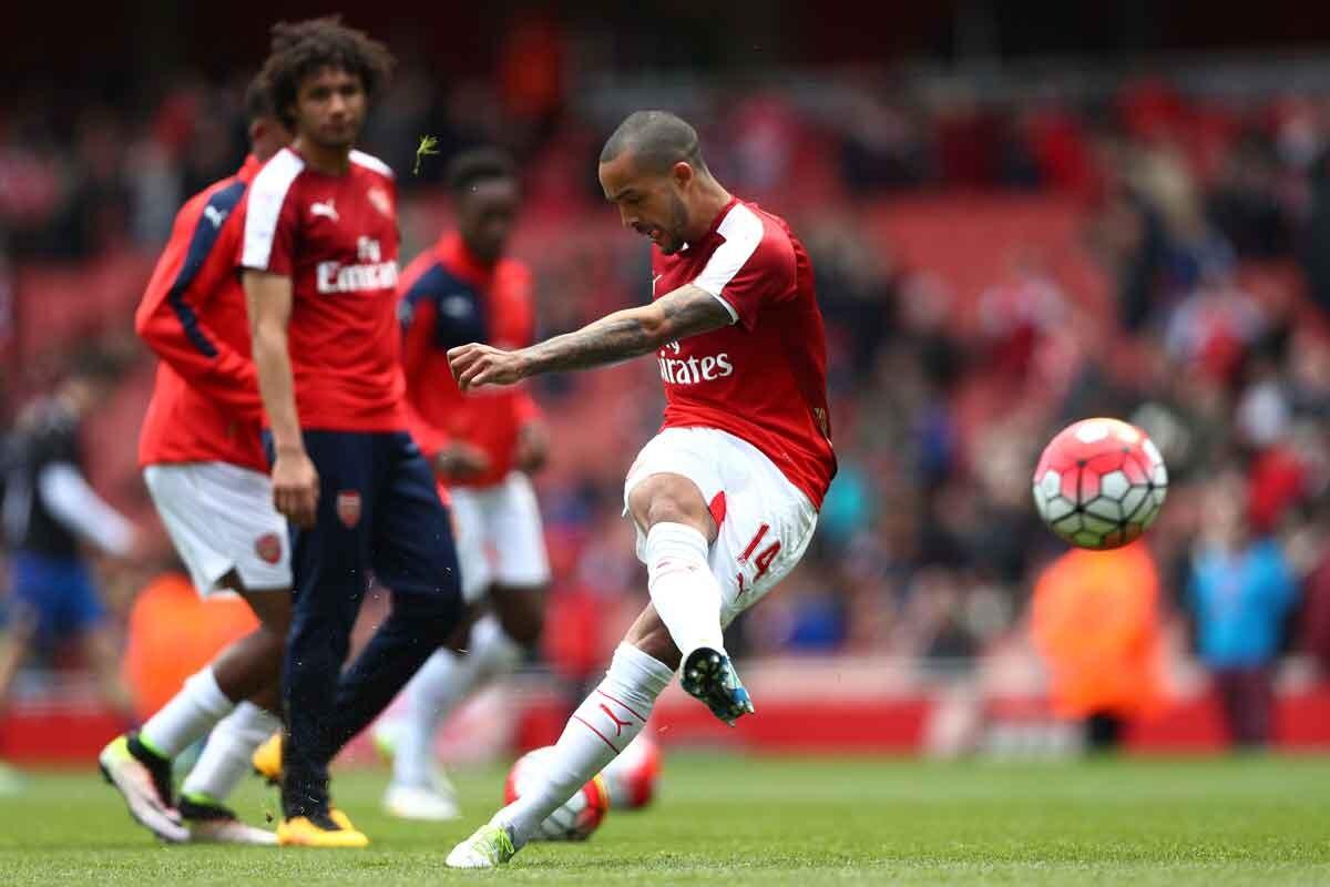 Theo Walcott, del Arsenal