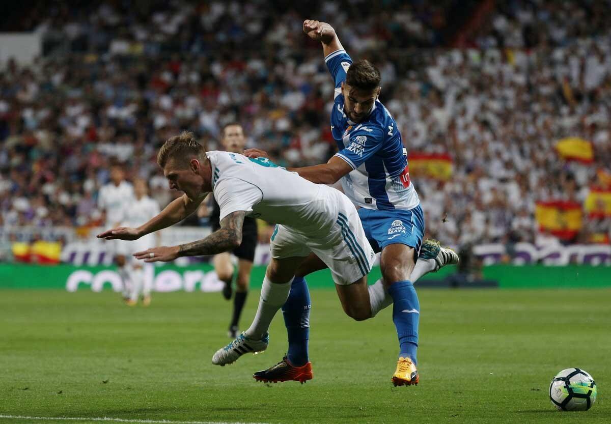 Las mejores imágenes del Real Madrid-Espanyol