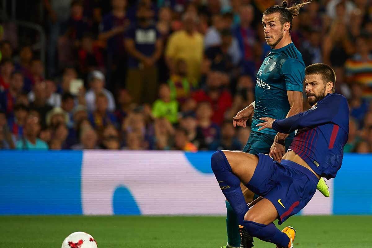 Bale y Piqué