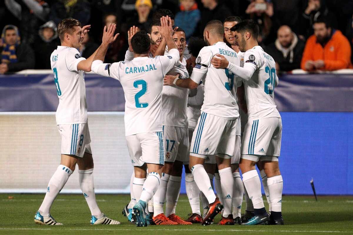 Las mejores imágenes de la goleada del Real Madrid en Nicosia