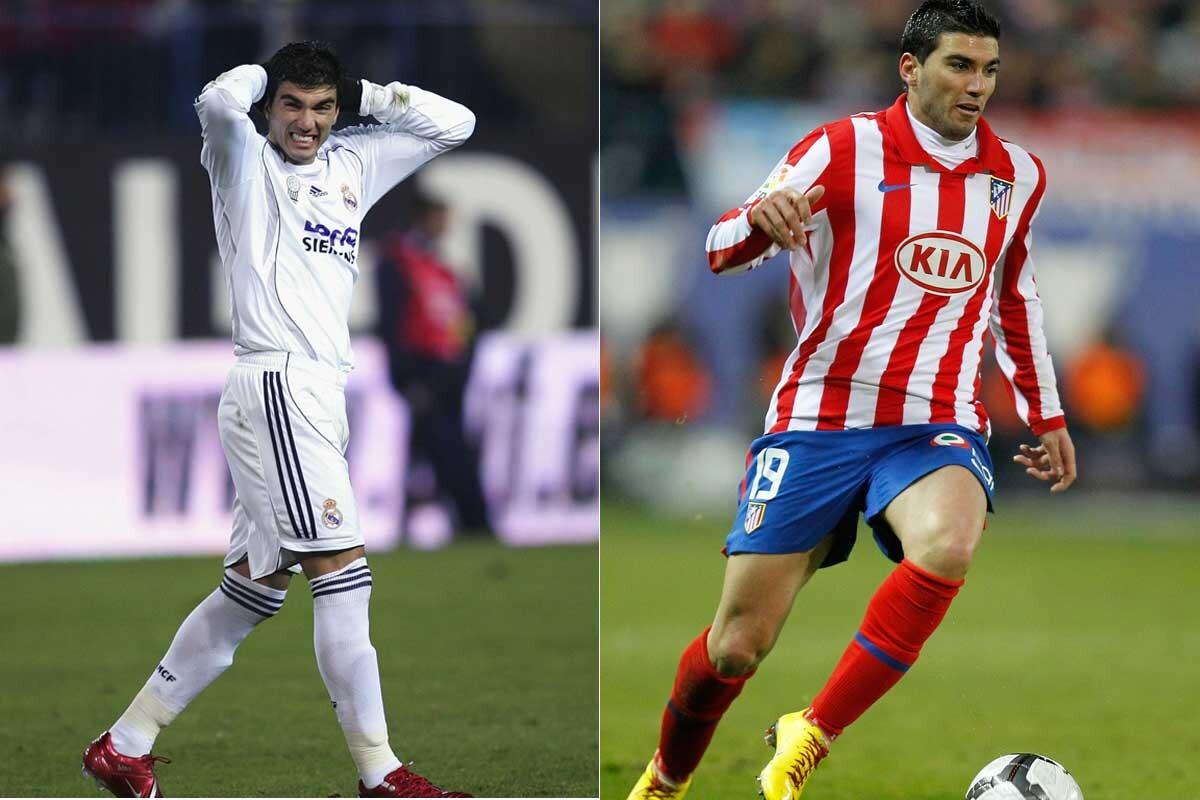 Jugadores que han vestido las camisetas del Atlético y Real Madrid