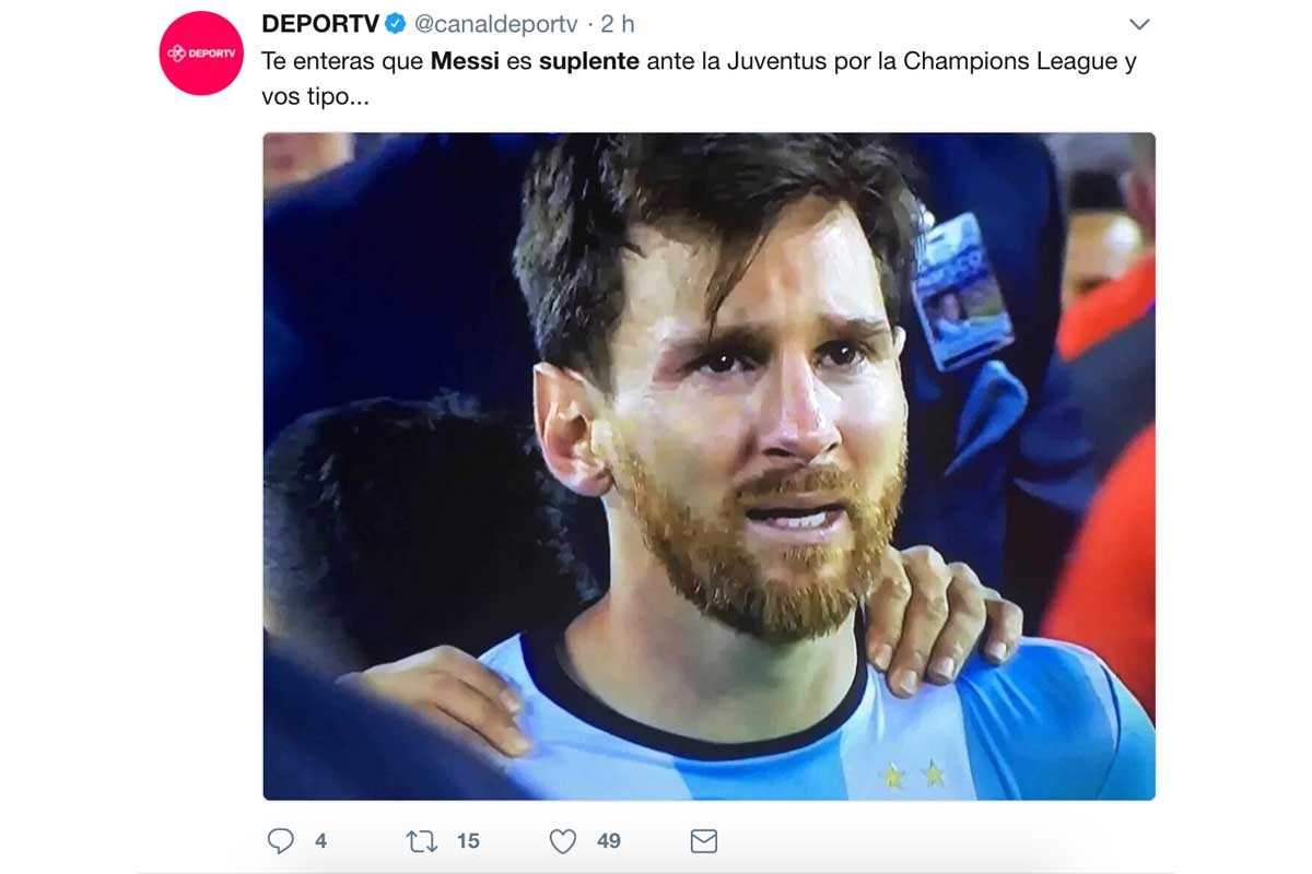 Los mejores memes del Juventus – Barça