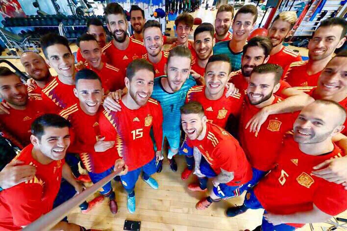Nueva camiseta de la Selección española