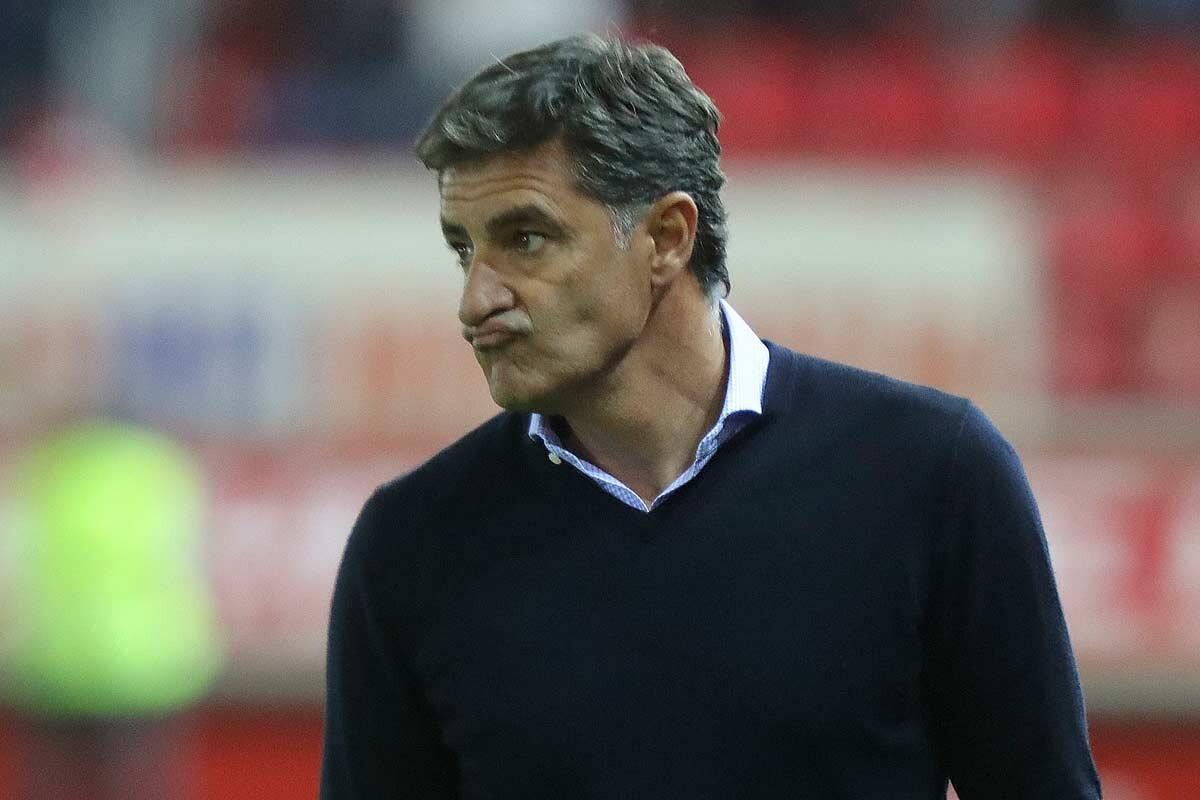 Michel, entrenador del Málaga