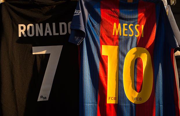 Ronaldo y Messi