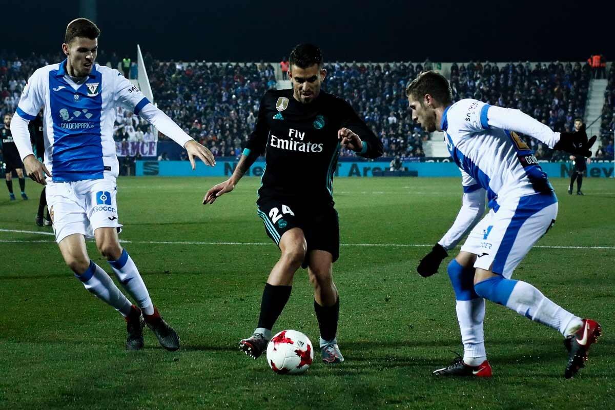 Las mejores imágenes de la victoria del Real Madrid ante el Leganés