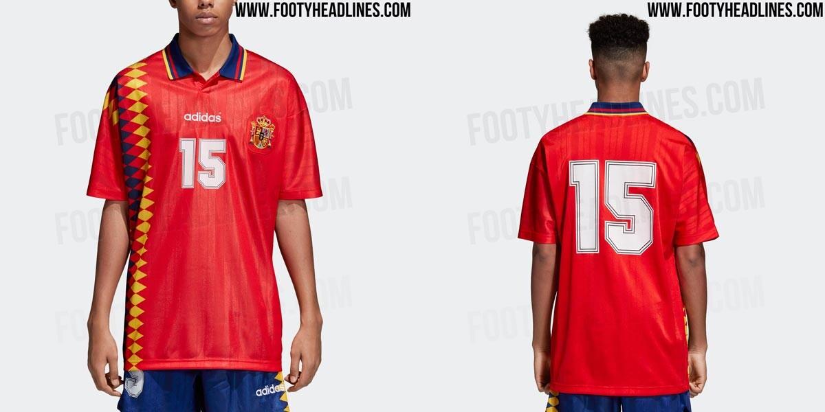 838aaf4597031 La camiseta de España del Mundial del 94 volverá a estar a la venta ...