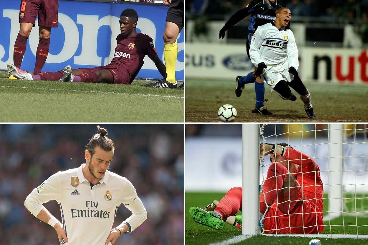 Dembélé, Bale, Cazorla… el club de los jugadores de cristal