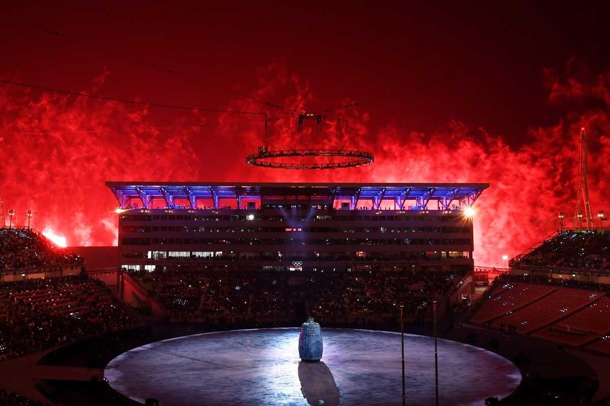 Las mejores imágenes de la inauguración de los Juegos Olímpicos