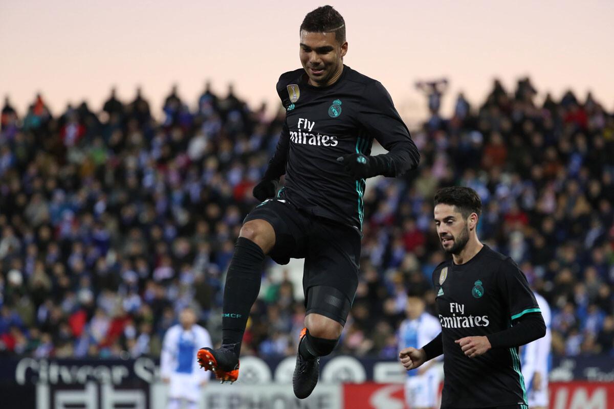 Las mejores imágenes del Leganés – Real Madrid