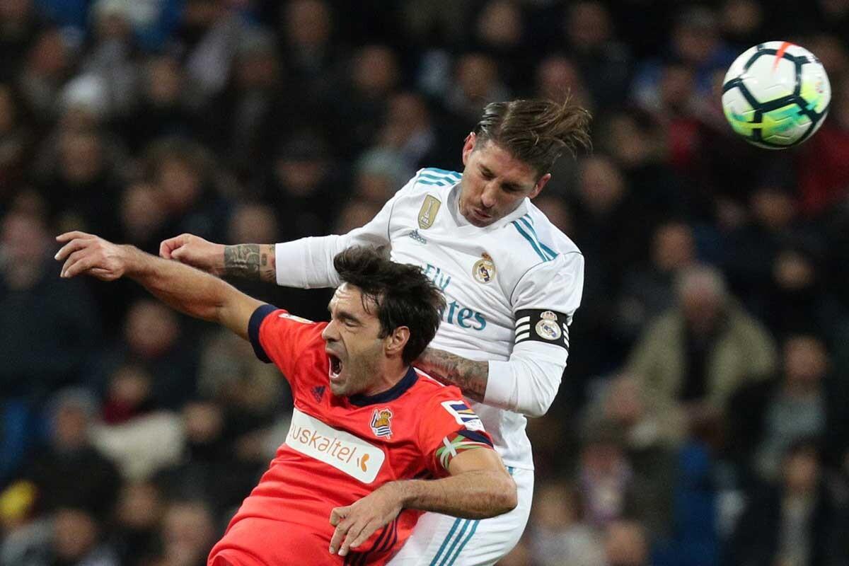 Las mejores imágenes de la victoria del Real Madrid ante la Real Sociedad