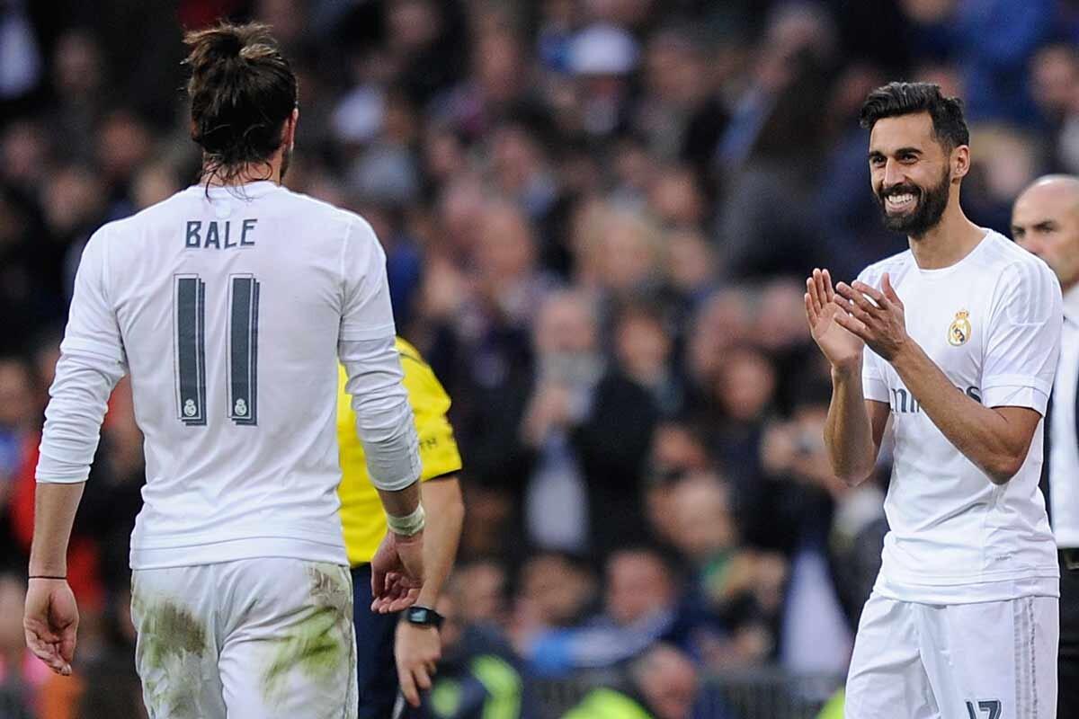 Arbeloa y Bale