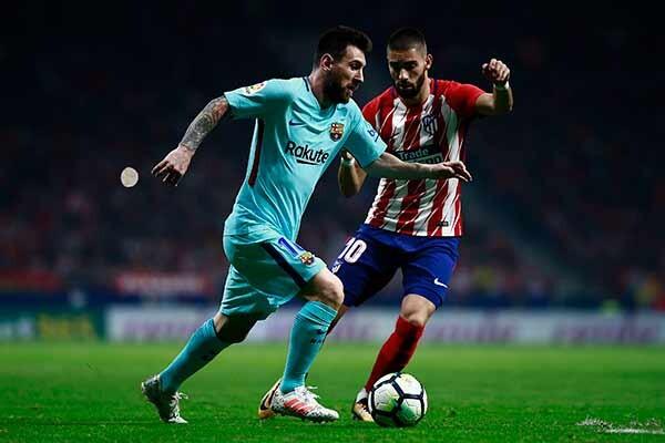 Messi y Carrasco