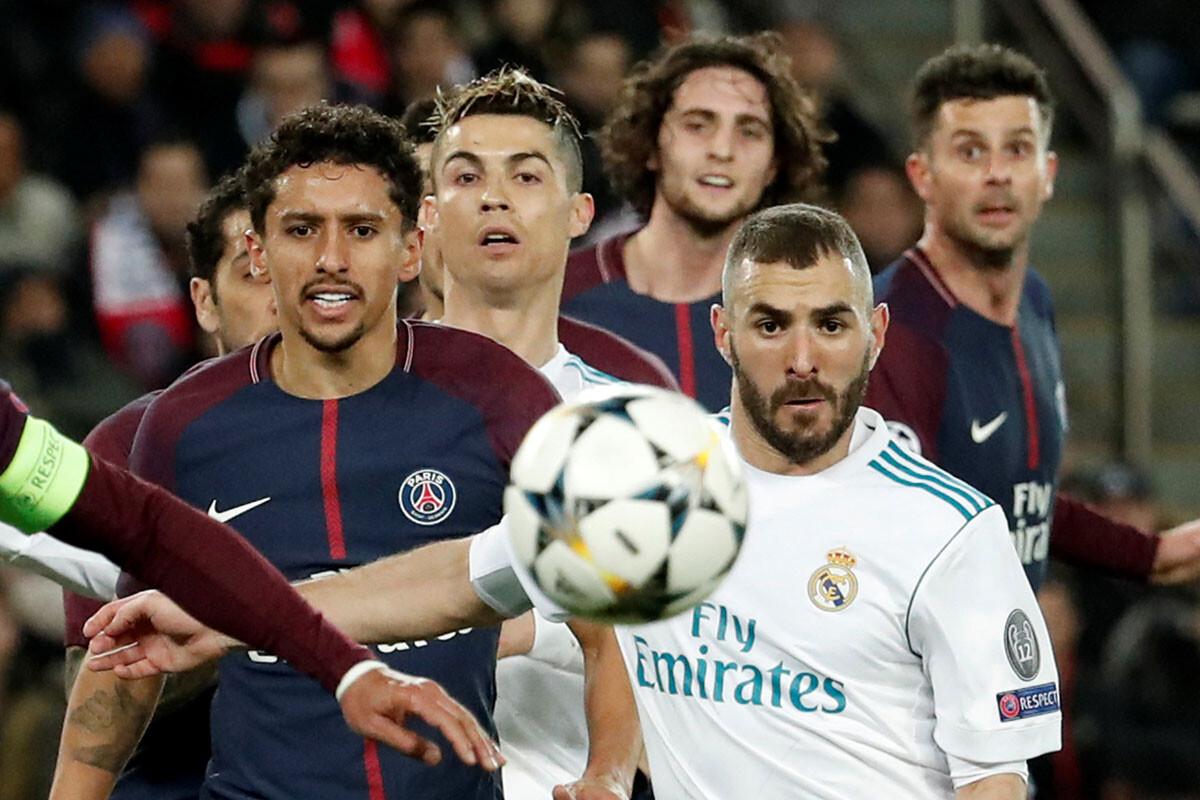 Las mejores fotos del PSG – Real Madrid