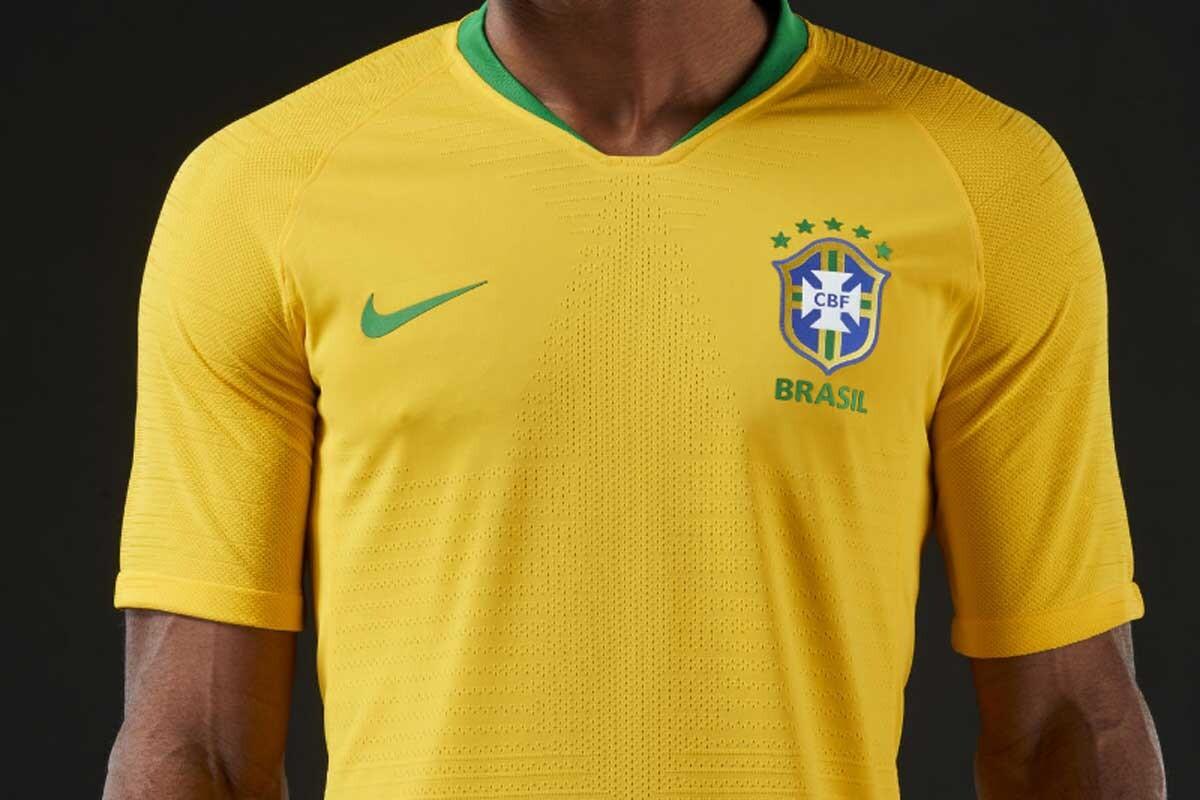 93cff8ec86119 La camiseta de Brasil para el Mundial 2018