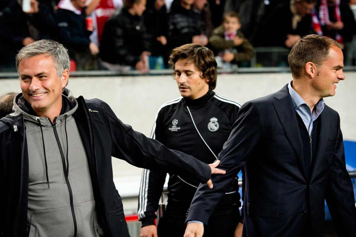 Mourinho y De Boer