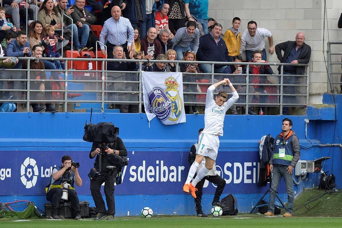 Las mejores imágenes del Eibar – Real Madrid