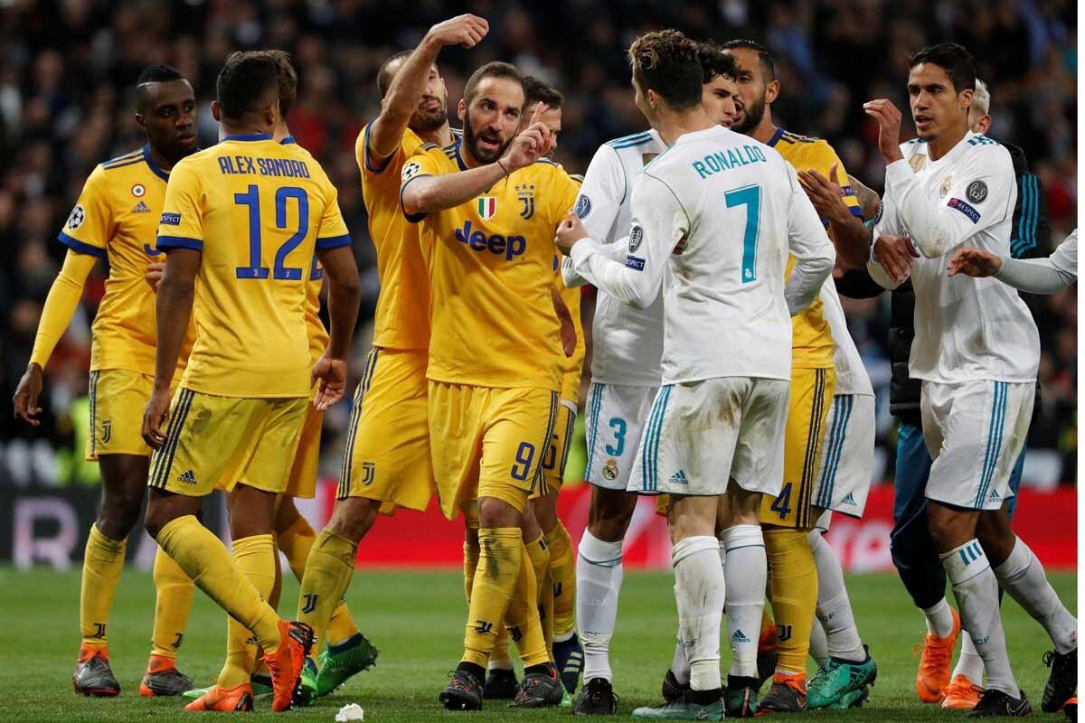 Las mejores imágenes del emocionante partido entre Real Madrid y Juventus