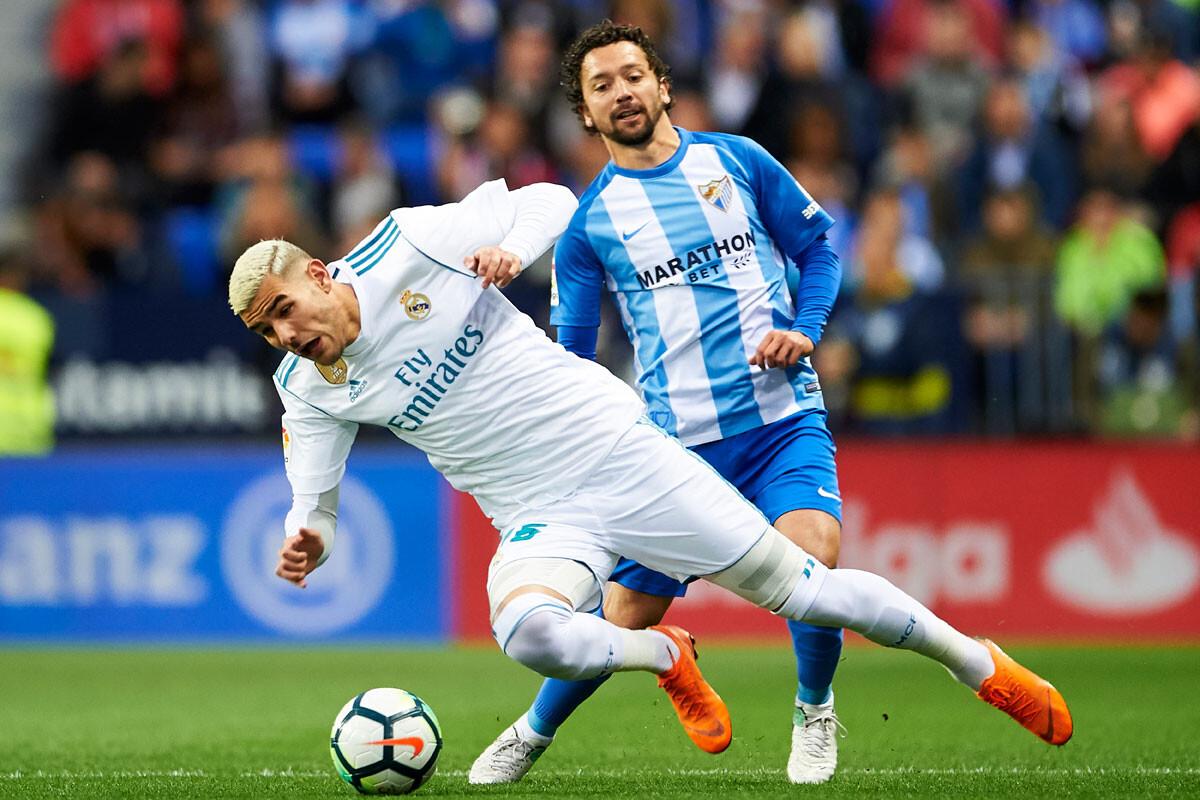 Las mejores imágenes del Málaga – Real Madrid