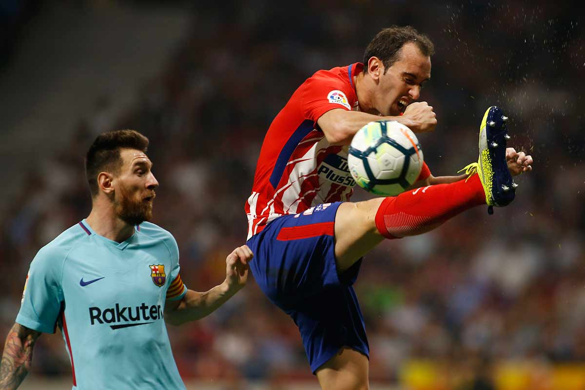 Messi y Godín