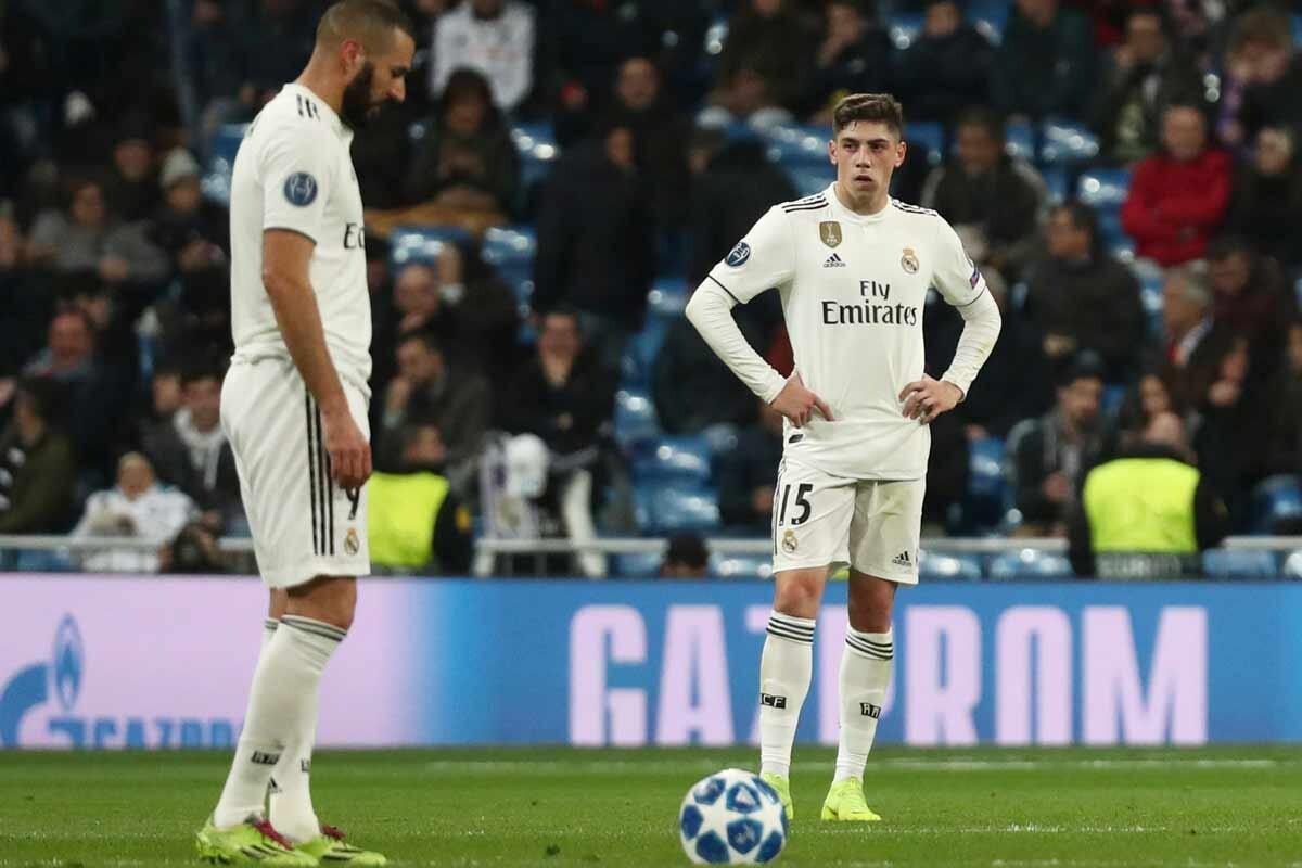 Benzema y Valverde
