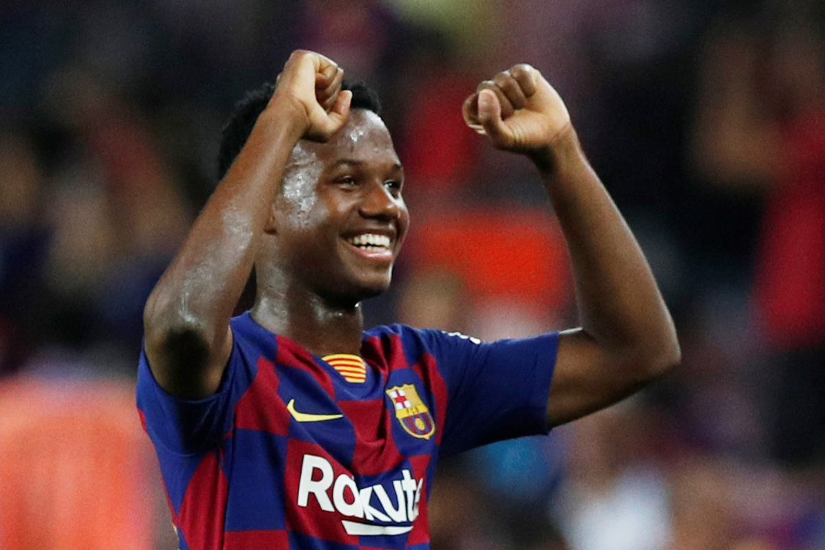 Barcelona: Spain dream of Ansu Fati... And Barcelona could ...  |Ansu Fati