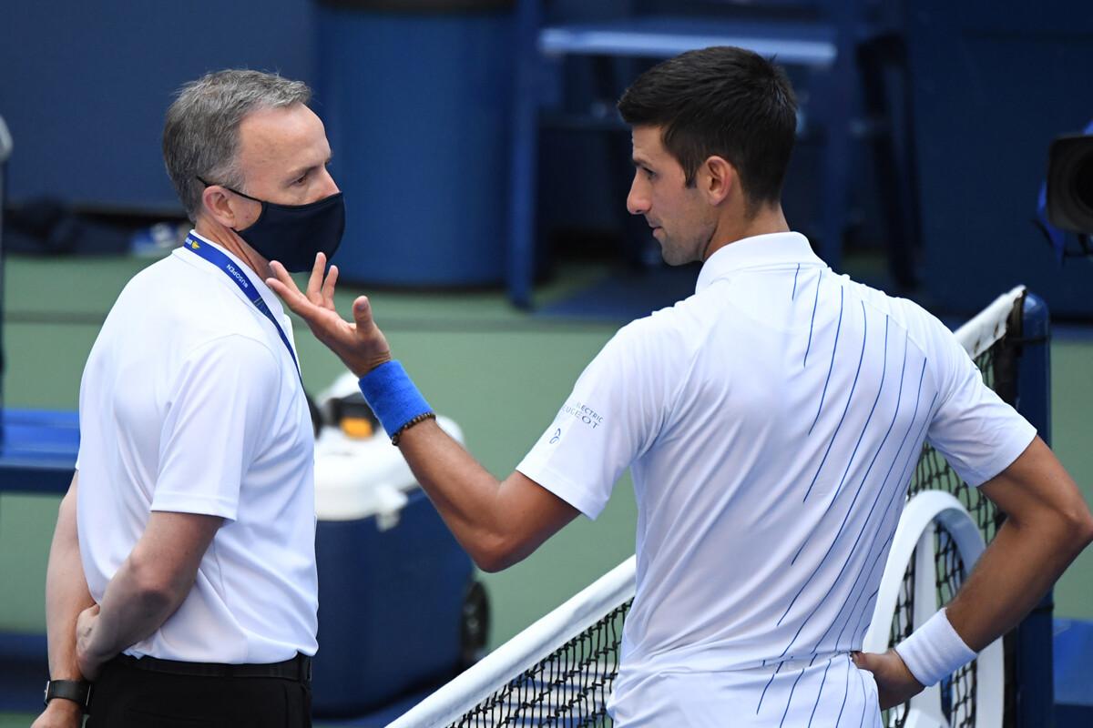 Novak Djokovic Expulsado Del Us Open Sportyou 20minutos