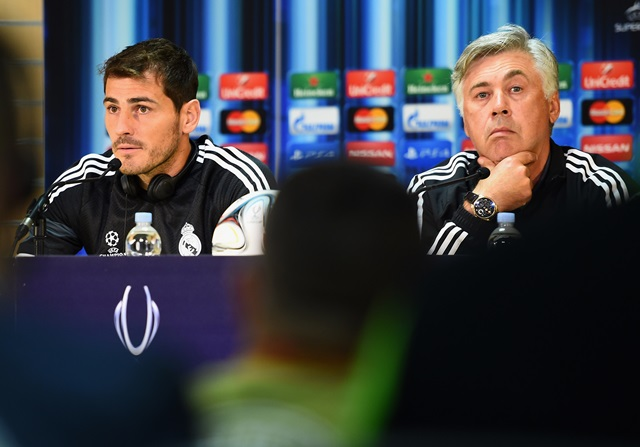"Casillas: ""Ancelotti se lo merece"""